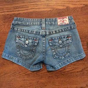 True Religion Jean shorts size 26
